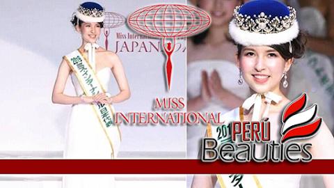 Tomomi Okada es Miss International Japan 2019