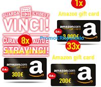 Logo Vinci con Arexons buoni Amazon da 200, 300 e 3.000 €