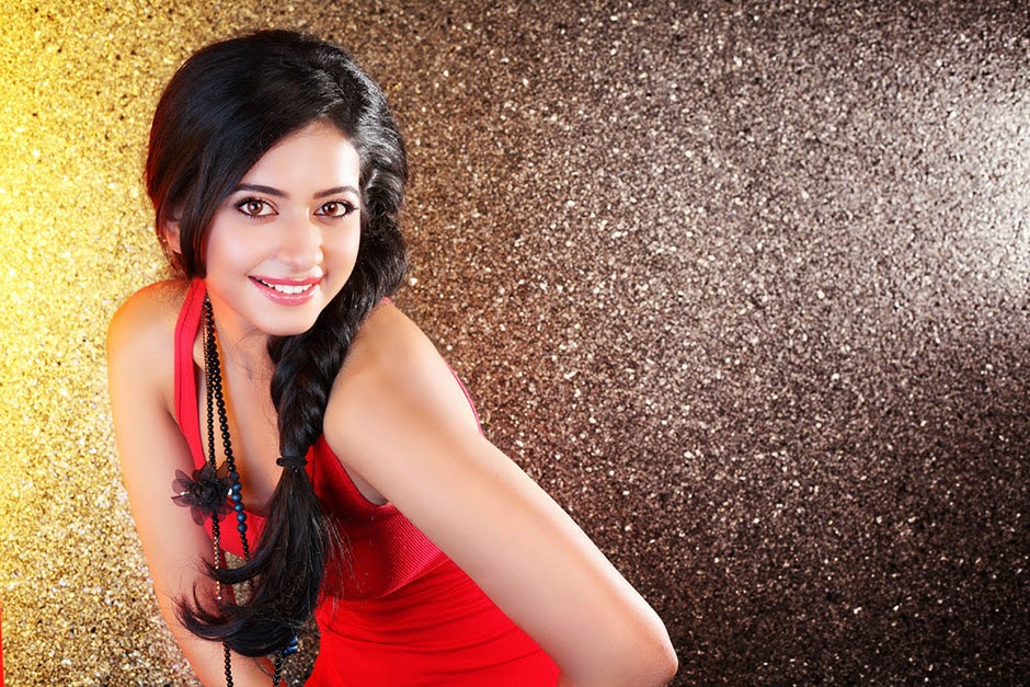 Beautiful Delhi Girl Rakul  Preet Singh Stills In Red Dress