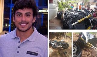 Proprietário de academia Fitness morre em acidente na BR 135