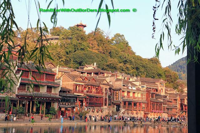 Riverside, Phoenix Fenghuang County, Hunan, China