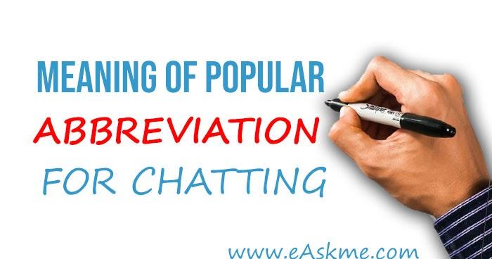 Bedeutung von dating-chat