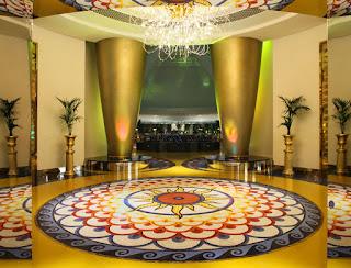 Lobby de Hoteles de 7 estrellas
