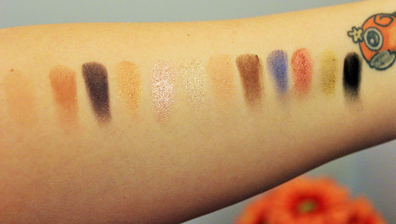 Anastasia Beverly Hills Shadow Couture World Traveler Eye Shadow Palette Swatches