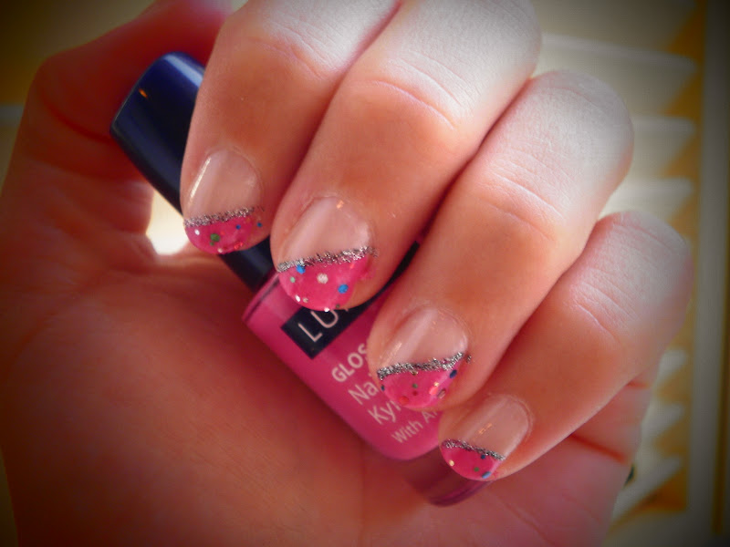Crazy About Nails: Pink Girly Nails