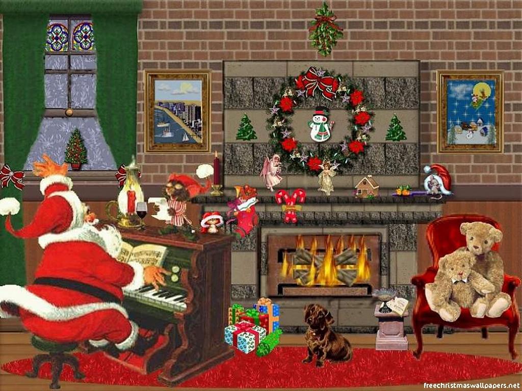 Images pour blogs et facebook fonds d 39 cran et images de saint nicolas p - Les plus belles cheminees ...