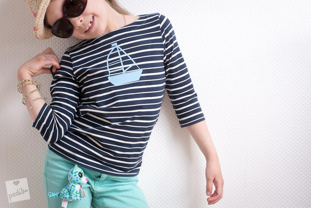 E-Book LeBretöngchen – Ein Basic-Shirt mit Segelboot