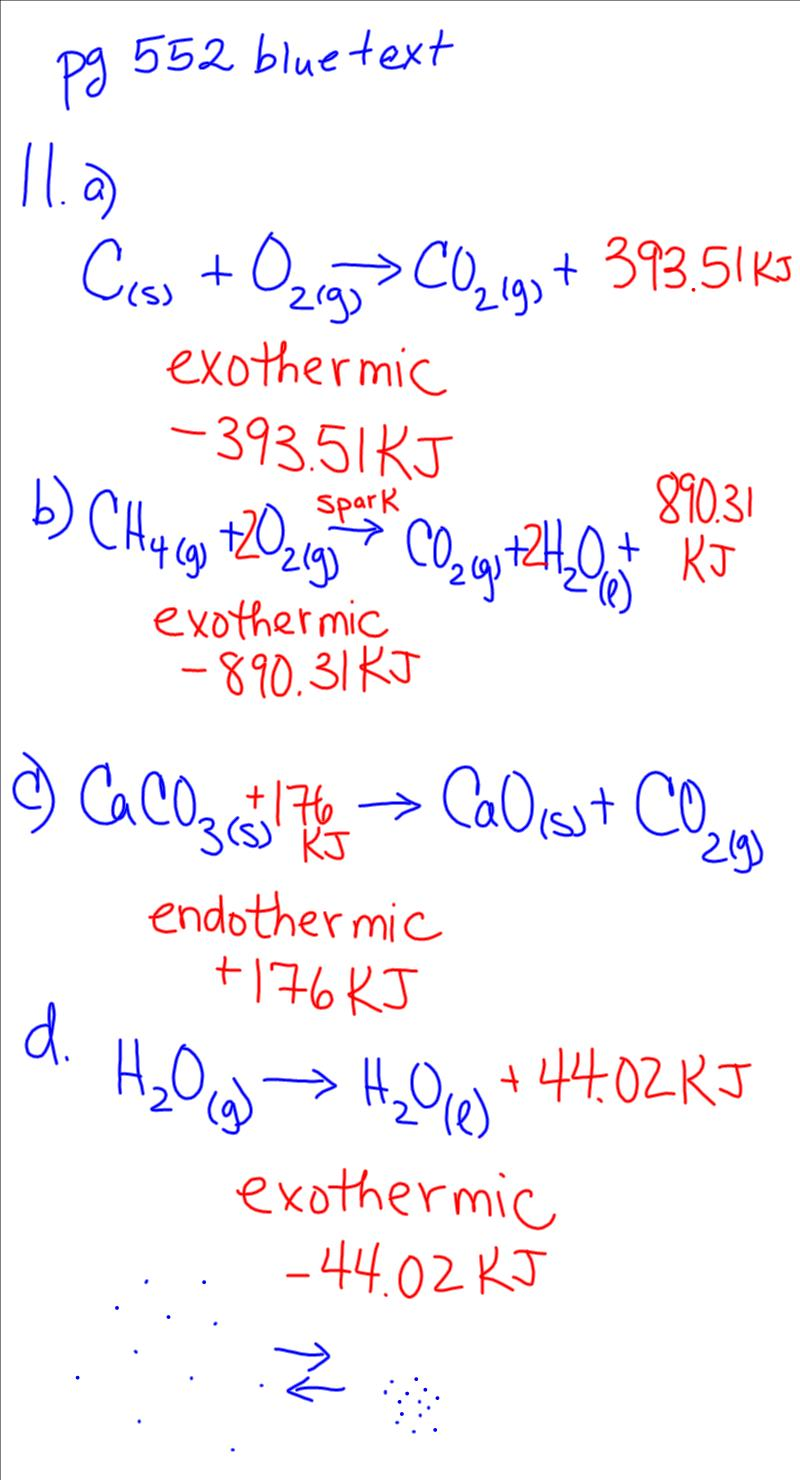 modern chemistry chapter 6 homework 6-11 answers