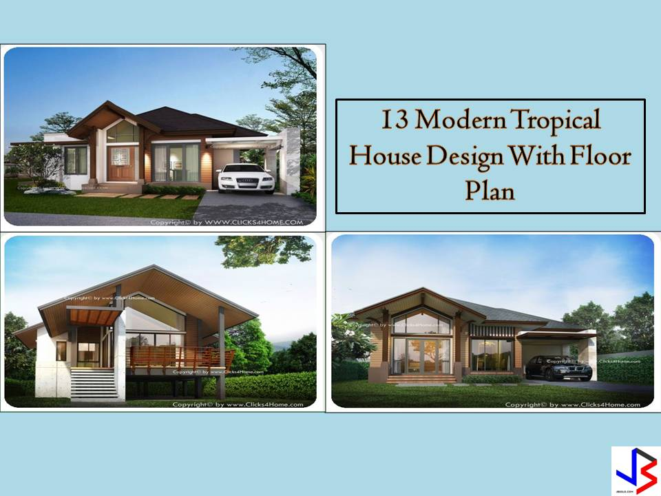 One of the most popular house styles in the world is the tropical style. But when he heard about tropical styled homes, we may think that this houses are luxury and only for countries with hot summer days. But don't you know that tropical style can also be applied in anywhere you want not just in hot places. The main characteristic of tropical designed homes are tropical plants and flowers inside the house and outside in the garden or in the whole yard.  There are so many beautiful houses decorated in tropical style, that will catch your eye. If you are a type of person who loves hot weather and the summer, this style is for you! The following are a different design of tropical homes you will love and can be considered as your dream home.