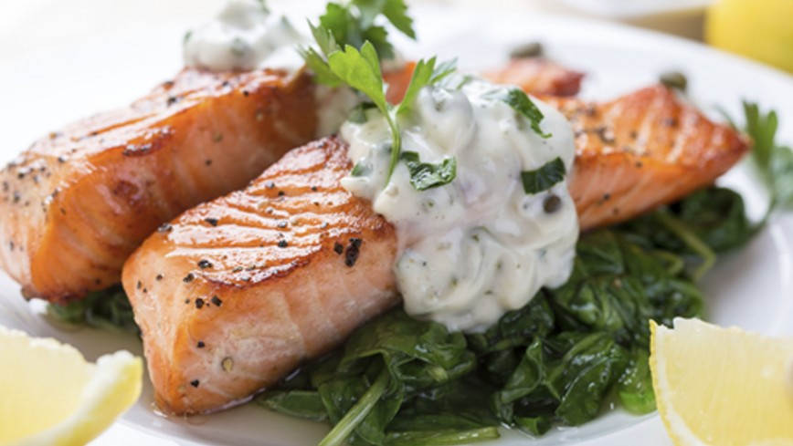 What did you have for dinner tonight? - Page 15 Salmon-basil%2Bsauce