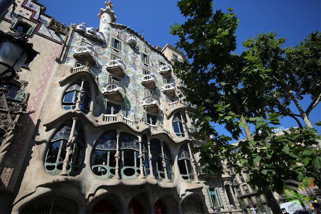 バルセロナ - カサ・バトリョ