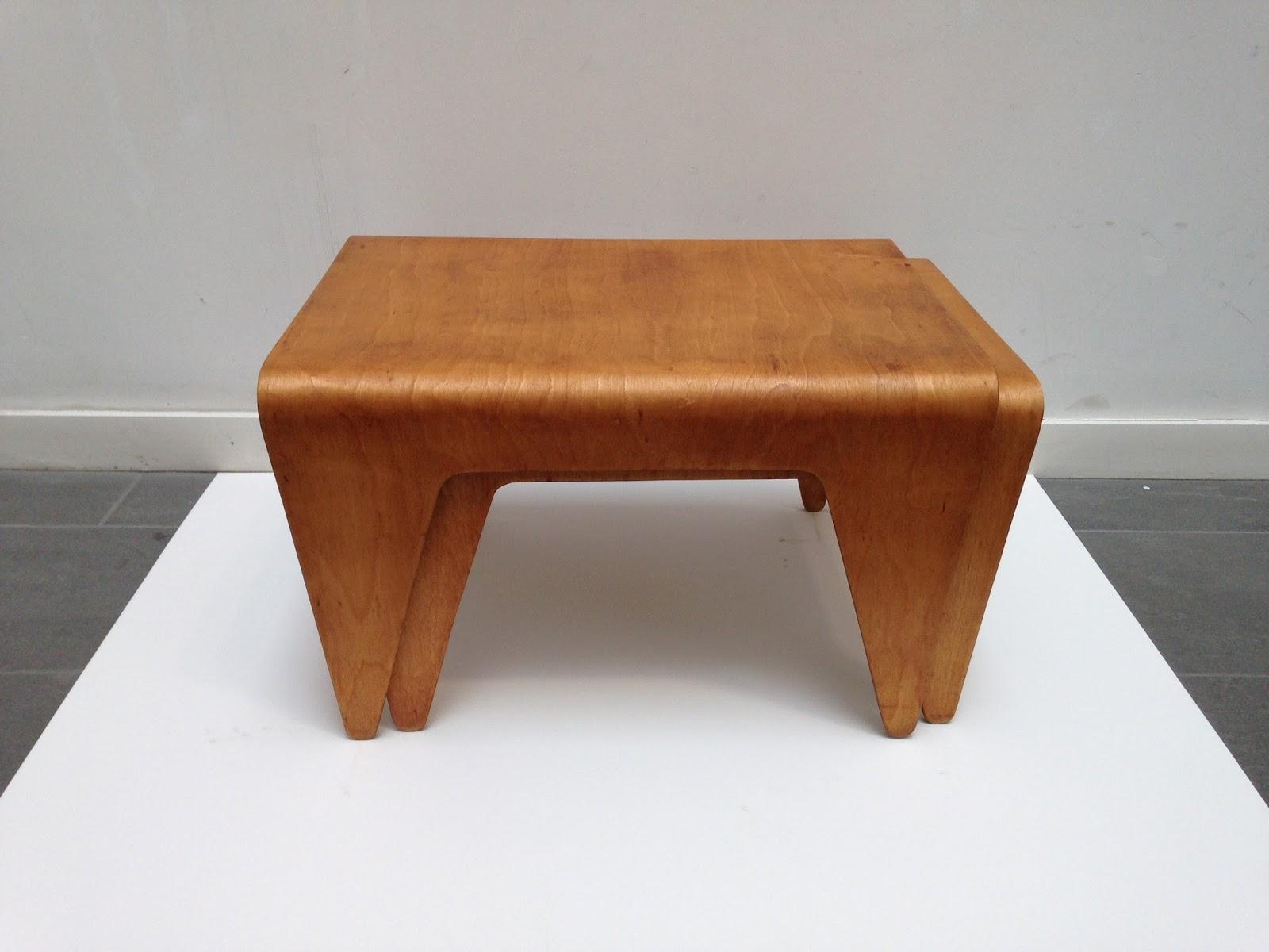 Scott Campbell: Marcel Breuer Nest Of Tables 1936