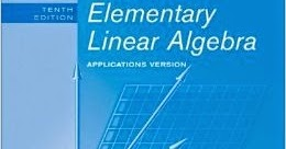 Elementary Linear Algebra With Supplemental Applications 11th Edition Pdf