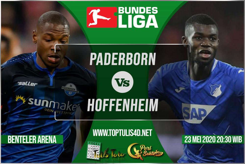Prediksi Paderborn vs Hoffenheim 23 Mei 2020