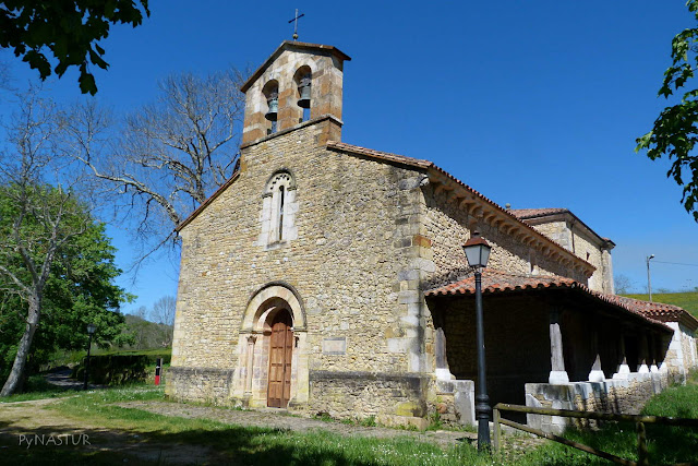 Iglesia Románica de San Juan de Berbio - Piloña - Asturias