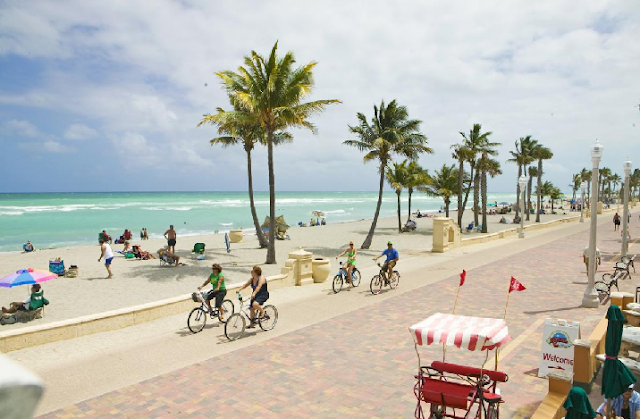 Hollywood Beach Miami