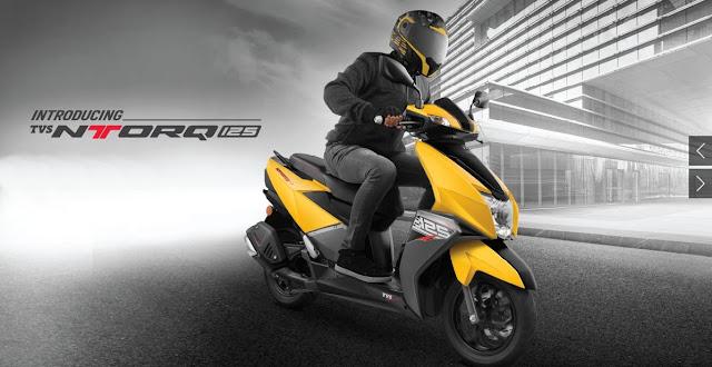 New TVS Ntorq 125 Scooter 01