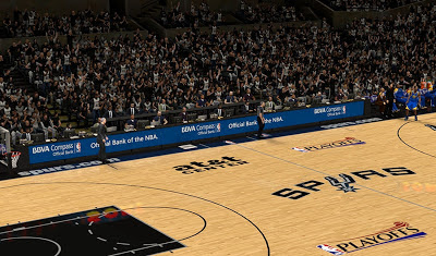 NBA 2K13 San Antonio Spurs Court Playoffs Update