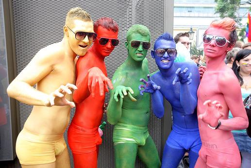 Gay pride barcelone gay lycra
