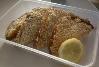 The epic prawn toast