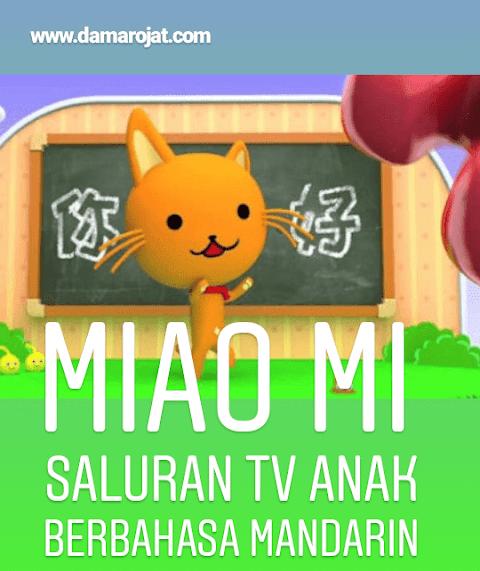Miao Mi, Saluran TV Anak Berbahasa Mandarin Di Indonesia