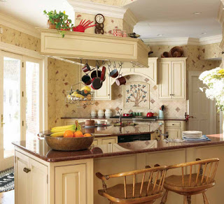 Classical concept for kitchen decorating ideas