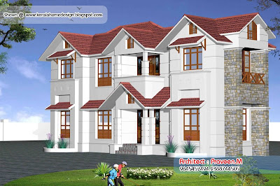 Home elevation 1500 Sq. Ft