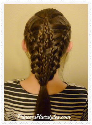 Woven checkerboard dutch braids hairstyle video tutorial. Easier than it looks.