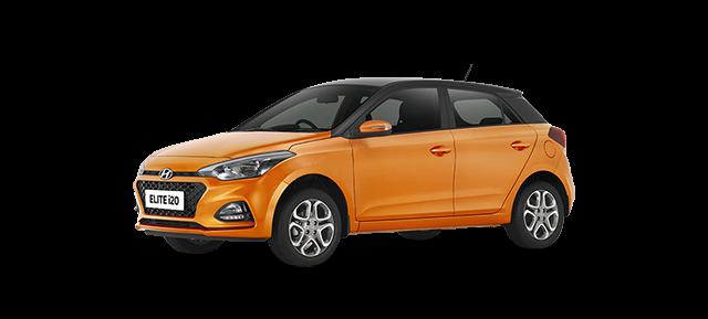 2018 Hyundai i20 orrange car