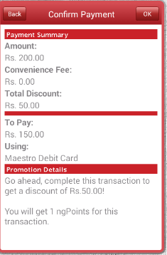 NGPAY : Get 25% Discount On Mobile Recharges/DTH/Bus Tickets- Max Rs.50 Discount [For New Users Only]