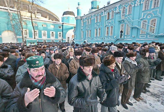 Muslim Moskow Sulap Supermarket Jadi Masjid untuk Shalat
