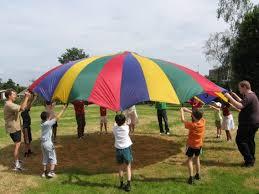 Kids Parachute Games