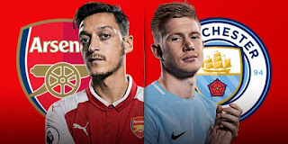 Arsenal vs Manchester City Live Streaming online Today 01.03.2018 Premier League