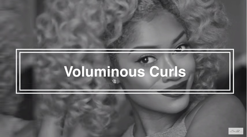 Soft Voluminous Curls For Holiday Parties