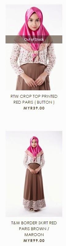 Red Paris dari Blossom Box Store Online