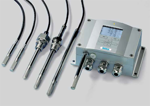 Vaisala Humidity sensors and transmitters for process measurement and control
