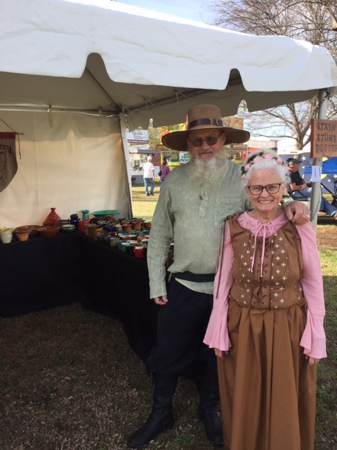 Tomball German Festival 2020.Stain And Stone Pottery April 2019