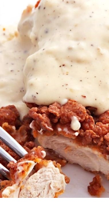 Chicken-Fried Chicken With Cream Gravy Recipe