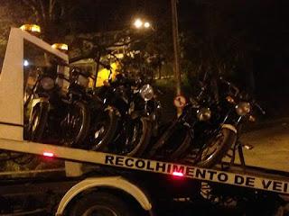 Romaria: Motociclistas têm motos apreendidas por desordem pública