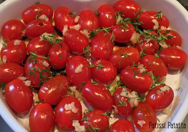 recette de polenta tomate mozzarella, polenta tomates cerises, polenta en canapé, polenta tomates de Gordon Ramsay, recette de Gordon Ramsay, tomate, mozzarella version polenta, apéritif dinatoire, entrée, polenta au parmesan