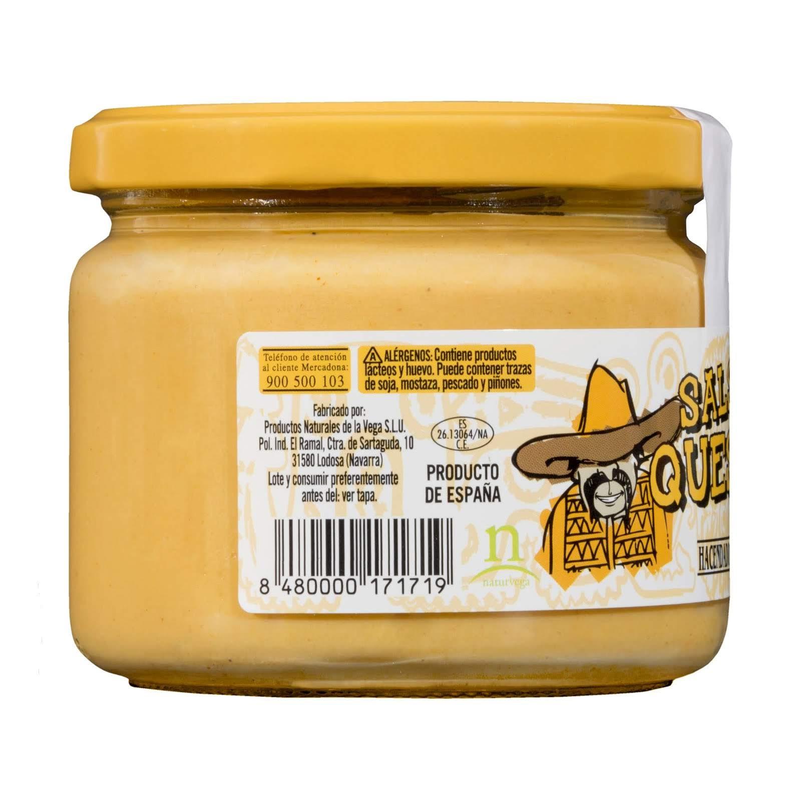 Salsa de queso para dipear Hacendado