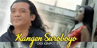 Lirik Lagu Kangen Suroboyo - Didi Kempot