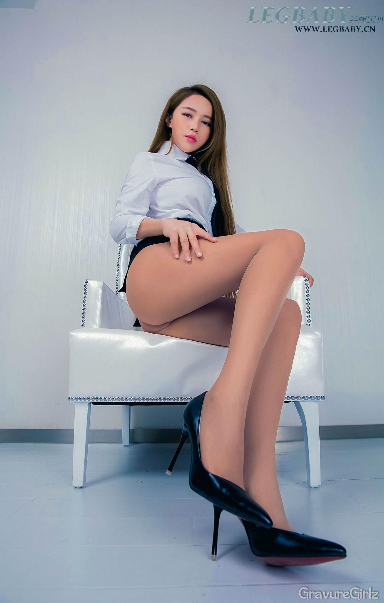 Rouxi 若兮 LEGBABY NO.009 Clear Pantyhose