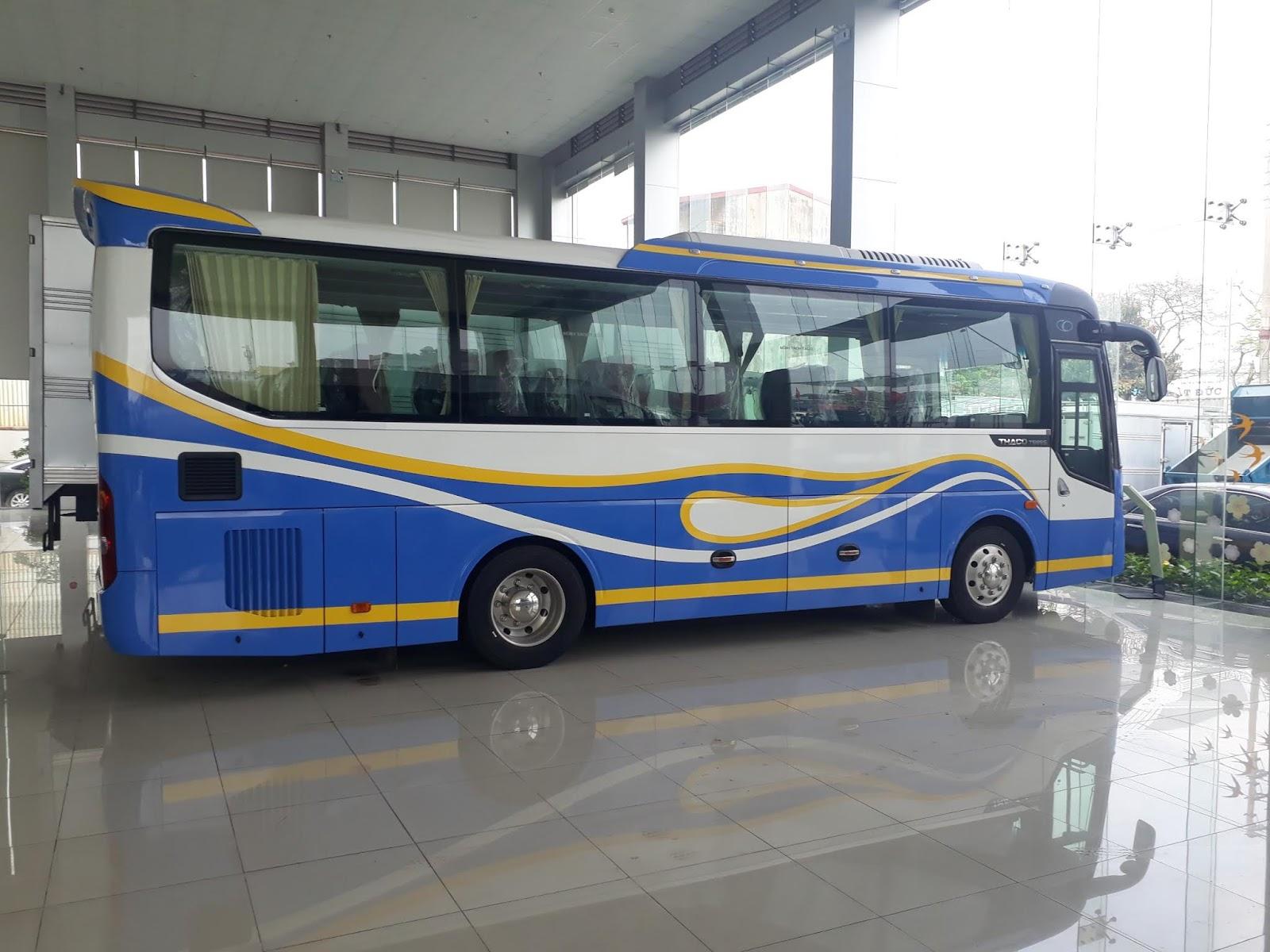 Xe khách Thaco TB85S 29 chỗ ngồi tại Hải Phòng