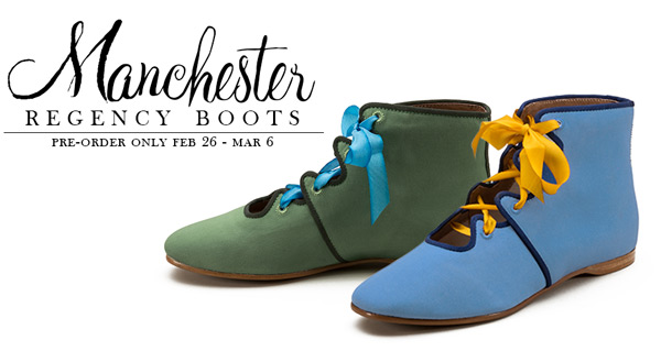 7deb21f7419 Exclusive Manchester Regency Boots - Pre-Order Open! ~ American Duchess