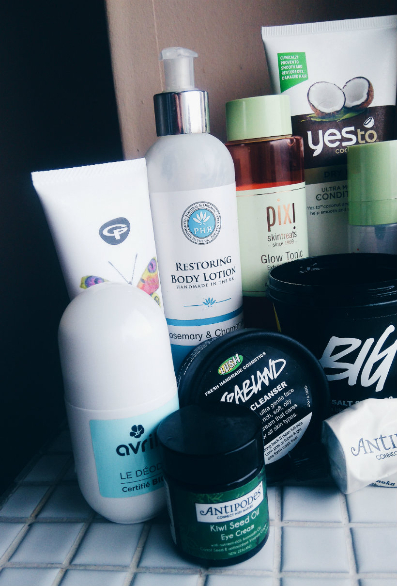 Favourite 2016 Toiletries (Part 1)