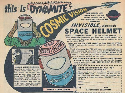 Invisible Space Helmet
