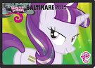 My Little Pony Starlight Glimmer Series 3 Trading Card