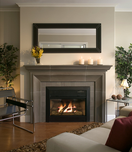 Hearth Designs: Fireplace Mantels As A Center Point In The Interior Design