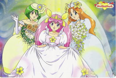 dessin animé Wedding Peach